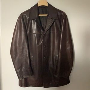 Prada Men's Leather Jacket